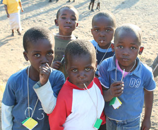 South Africa orphans